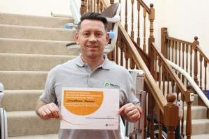 Stairlift Training for Priority Lift Services Staff image