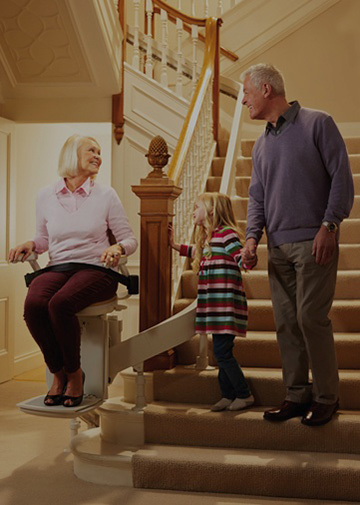 assessing stairlift needs priority lifts side image