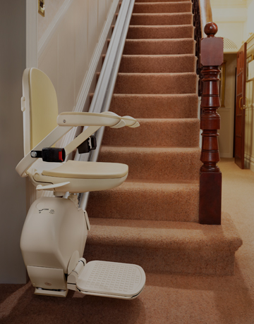 residential stairlifts straight stairlift image